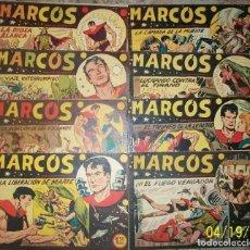 Tebeos: MARCOS (MAGA) LOTE CON 8 NUMEROS DIFERENTES. Lote 236232960