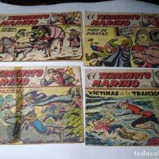 Tebeos: LOTE / PACK 41 COMICS - EL TERREMOTO MARINO - MAGA - 1963 ( LEER DESCRIPCION Y MIRAR LAS 10 FOTOS!). Lote 236246130