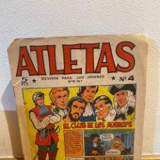 Tebeos: ATLETAS NÚMERO 4 EL CLUB DE LOS AUDACES. Lote 236458465