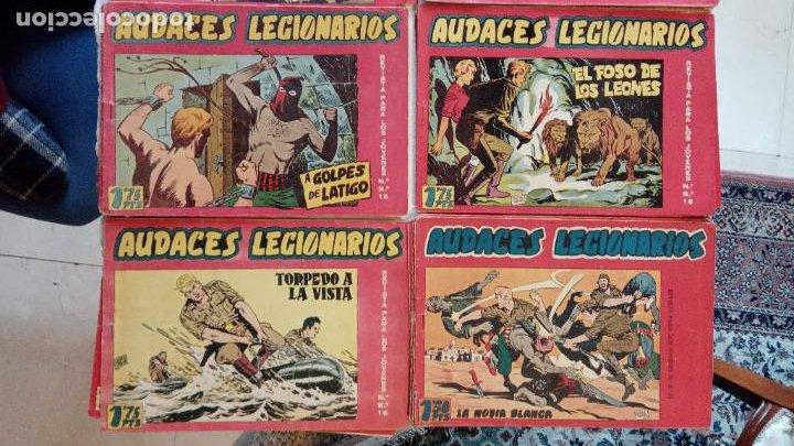 Tebeos: AUDACES LEGIONARIOS-CAPITÁN REY COMPLETA ORIGINAL 1958 MAGA -VER TODAS LAS PORTADAS - LEOPOLDO ORTÍZ - Foto 7 - 236460170