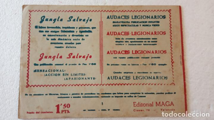 Tebeos: AUDACES LEGIONARIOS-CAPITÁN REY COMPLETA ORIGINAL 1958 MAGA -VER TODAS LAS PORTADAS - LEOPOLDO ORTÍZ - Foto 9 - 236460170