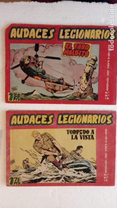 Tebeos: AUDACES LEGIONARIOS-CAPITÁN REY COMPLETA ORIGINAL 1958 MAGA -VER TODAS LAS PORTADAS - LEOPOLDO ORTÍZ - Foto 14 - 236460170