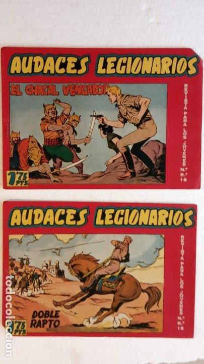 Tebeos: AUDACES LEGIONARIOS-CAPITÁN REY COMPLETA ORIGINAL 1958 MAGA -VER TODAS LAS PORTADAS - LEOPOLDO ORTÍZ - Foto 16 - 236460170