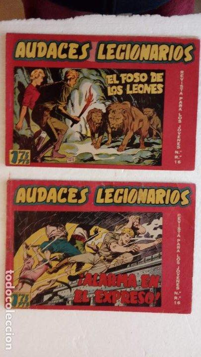 Tebeos: AUDACES LEGIONARIOS-CAPITÁN REY COMPLETA ORIGINAL 1958 MAGA -VER TODAS LAS PORTADAS - LEOPOLDO ORTÍZ - Foto 17 - 236460170