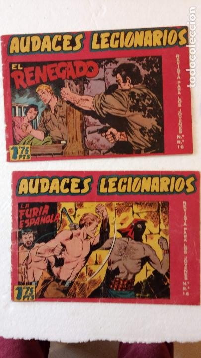 Tebeos: AUDACES LEGIONARIOS-CAPITÁN REY COMPLETA ORIGINAL 1958 MAGA -VER TODAS LAS PORTADAS - LEOPOLDO ORTÍZ - Foto 19 - 236460170