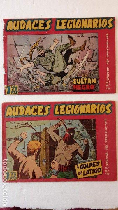 Tebeos: AUDACES LEGIONARIOS-CAPITÁN REY COMPLETA ORIGINAL 1958 MAGA -VER TODAS LAS PORTADAS - LEOPOLDO ORTÍZ - Foto 21 - 236460170