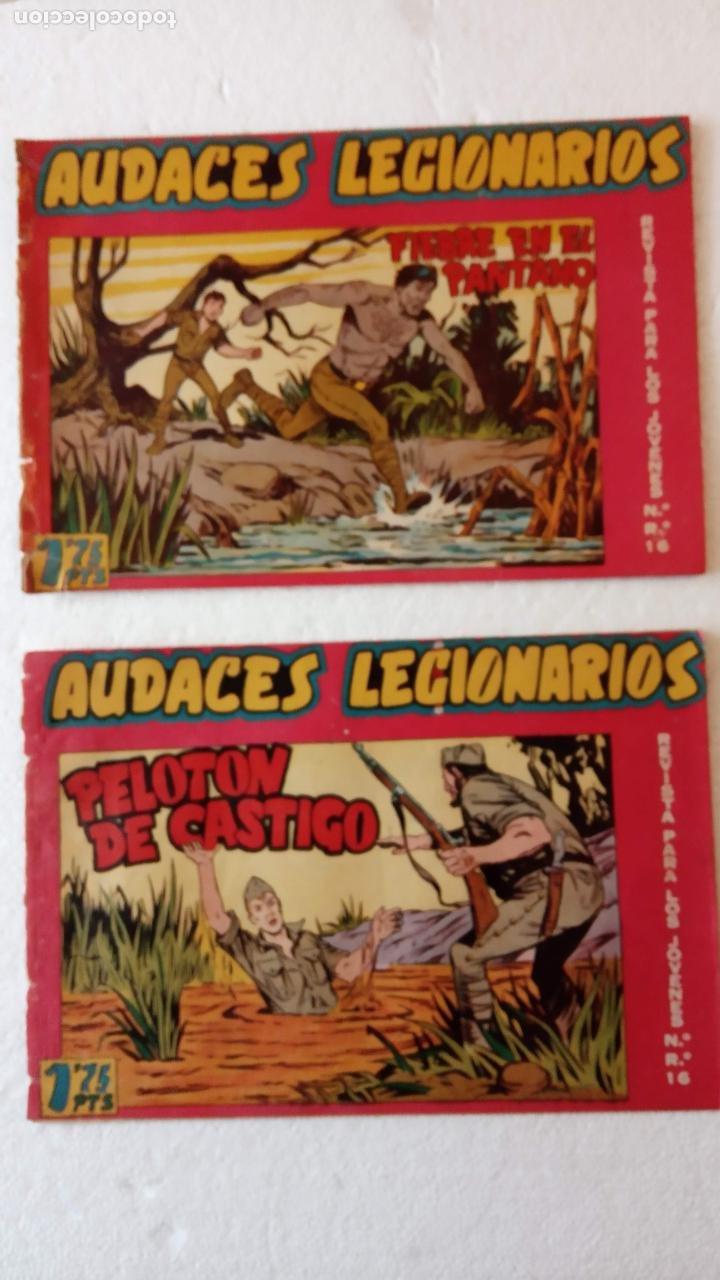 Tebeos: AUDACES LEGIONARIOS-CAPITÁN REY COMPLETA ORIGINAL 1958 MAGA -VER TODAS LAS PORTADAS - LEOPOLDO ORTÍZ - Foto 22 - 236460170