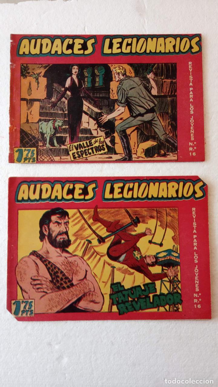 Tebeos: AUDACES LEGIONARIOS-CAPITÁN REY COMPLETA ORIGINAL 1958 MAGA -VER TODAS LAS PORTADAS - LEOPOLDO ORTÍZ - Foto 27 - 236460170