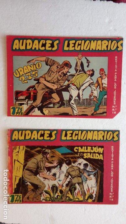 Tebeos: AUDACES LEGIONARIOS-CAPITÁN REY COMPLETA ORIGINAL 1958 MAGA -VER TODAS LAS PORTADAS - LEOPOLDO ORTÍZ - Foto 29 - 236460170