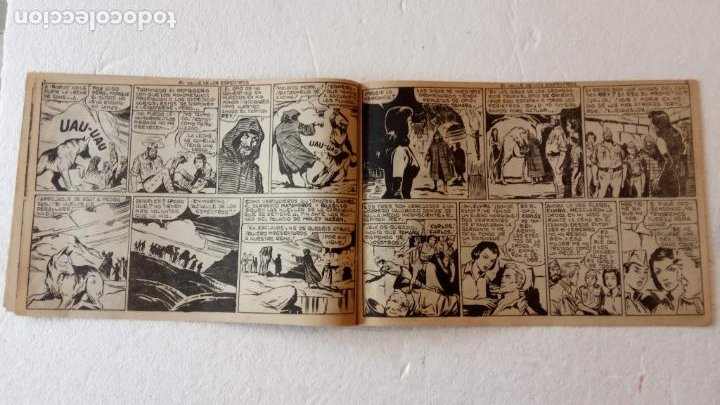 Tebeos: AUDACES LEGIONARIOS-CAPITÁN REY COMPLETA ORIGINAL 1958 MAGA -VER TODAS LAS PORTADAS - LEOPOLDO ORTÍZ - Foto 31 - 236460170