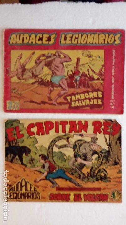 Tebeos: AUDACES LEGIONARIOS-CAPITÁN REY COMPLETA ORIGINAL 1958 MAGA -VER TODAS LAS PORTADAS - LEOPOLDO ORTÍZ - Foto 33 - 236460170