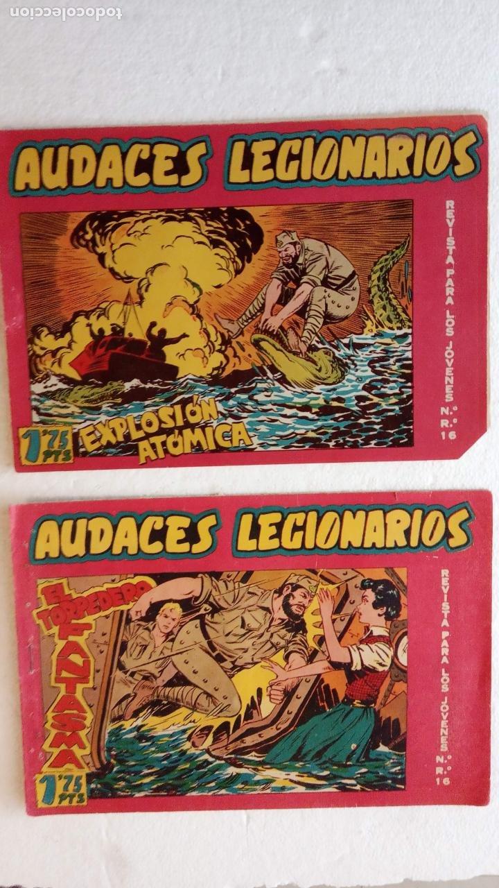 Tebeos: AUDACES LEGIONARIOS-CAPITÁN REY COMPLETA ORIGINAL 1958 MAGA -VER TODAS LAS PORTADAS - LEOPOLDO ORTÍZ - Foto 36 - 236460170