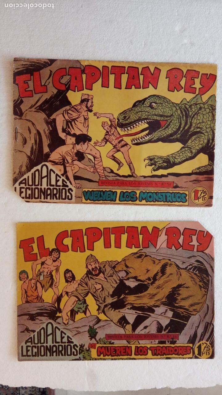 Tebeos: AUDACES LEGIONARIOS-CAPITÁN REY COMPLETA ORIGINAL 1958 MAGA -VER TODAS LAS PORTADAS - LEOPOLDO ORTÍZ - Foto 37 - 236460170