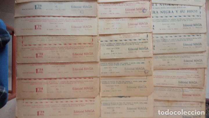 Tebeos: AUDACES LEGIONARIOS-CAPITÁN REY COMPLETA ORIGINAL 1958 MAGA -VER TODAS LAS PORTADAS - LEOPOLDO ORTÍZ - Foto 38 - 236460170