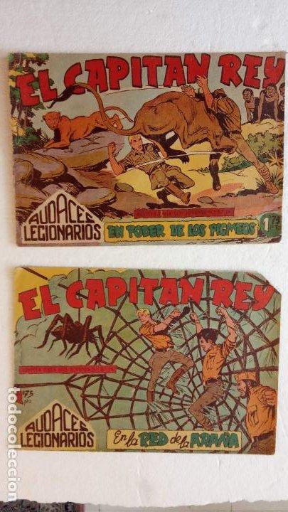 Tebeos: AUDACES LEGIONARIOS-CAPITÁN REY COMPLETA ORIGINAL 1958 MAGA -VER TODAS LAS PORTADAS - LEOPOLDO ORTÍZ - Foto 41 - 236460170