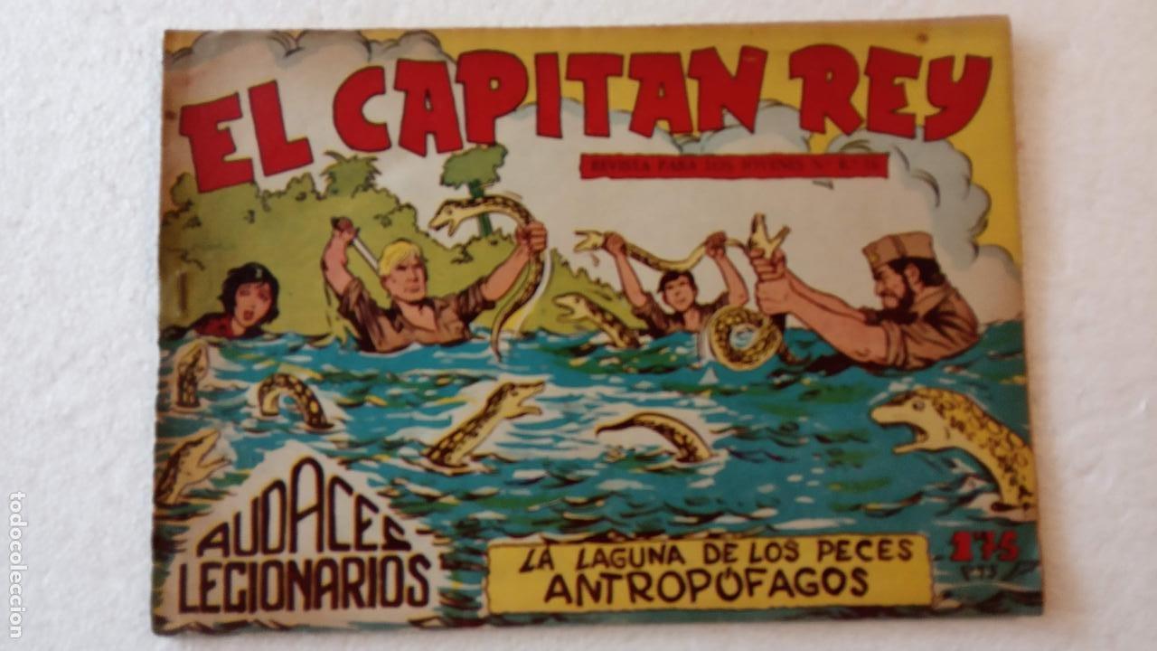 Tebeos: AUDACES LEGIONARIOS-CAPITÁN REY COMPLETA ORIGINAL 1958 MAGA -VER TODAS LAS PORTADAS - LEOPOLDO ORTÍZ - Foto 44 - 236460170