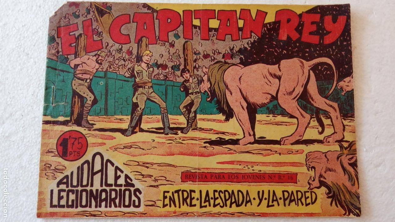 Tebeos: AUDACES LEGIONARIOS-CAPITÁN REY COMPLETA ORIGINAL 1958 MAGA -VER TODAS LAS PORTADAS - LEOPOLDO ORTÍZ - Foto 45 - 236460170