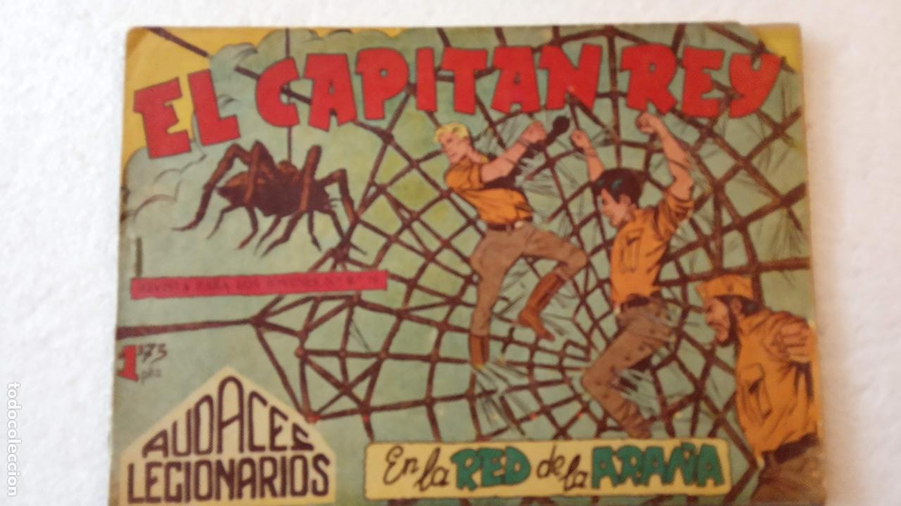 Tebeos: AUDACES LEGIONARIOS-CAPITÁN REY COMPLETA ORIGINAL 1958 MAGA -VER TODAS LAS PORTADAS - LEOPOLDO ORTÍZ - Foto 46 - 236460170