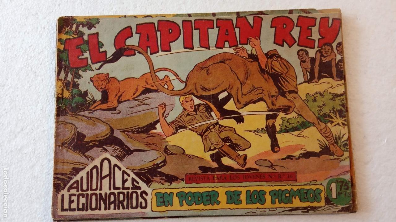 Tebeos: AUDACES LEGIONARIOS-CAPITÁN REY COMPLETA ORIGINAL 1958 MAGA -VER TODAS LAS PORTADAS - LEOPOLDO ORTÍZ - Foto 47 - 236460170
