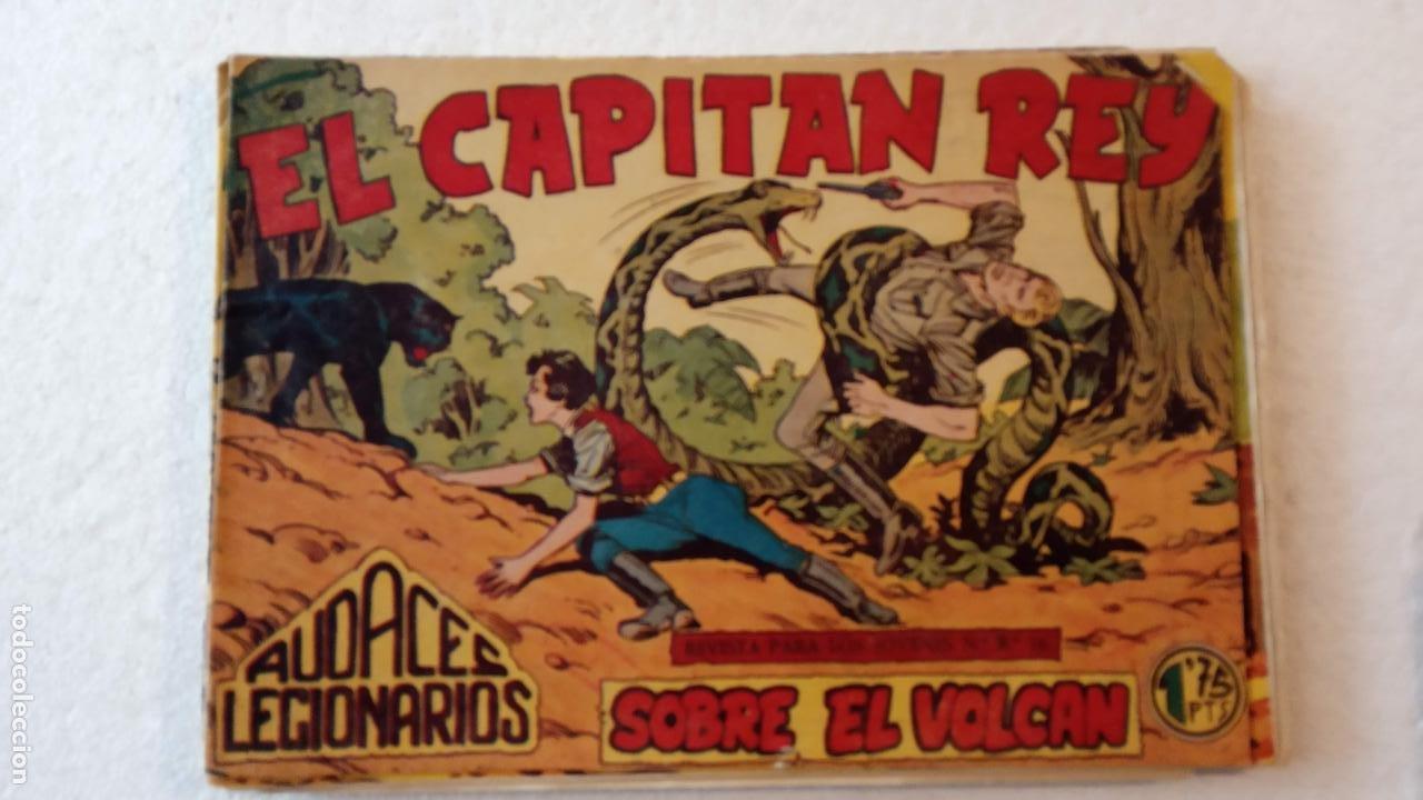 Tebeos: AUDACES LEGIONARIOS-CAPITÁN REY COMPLETA ORIGINAL 1958 MAGA -VER TODAS LAS PORTADAS - LEOPOLDO ORTÍZ - Foto 52 - 236460170