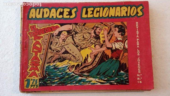 Tebeos: AUDACES LEGIONARIOS-CAPITÁN REY COMPLETA ORIGINAL 1958 MAGA -VER TODAS LAS PORTADAS - LEOPOLDO ORTÍZ - Foto 53 - 236460170