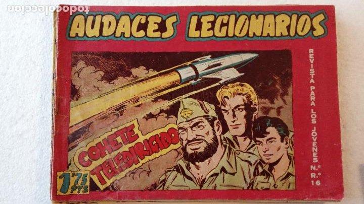 Tebeos: AUDACES LEGIONARIOS-CAPITÁN REY COMPLETA ORIGINAL 1958 MAGA -VER TODAS LAS PORTADAS - LEOPOLDO ORTÍZ - Foto 54 - 236460170