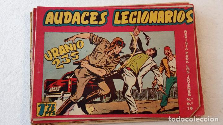 Tebeos: AUDACES LEGIONARIOS-CAPITÁN REY COMPLETA ORIGINAL 1958 MAGA -VER TODAS LAS PORTADAS - LEOPOLDO ORTÍZ - Foto 55 - 236460170