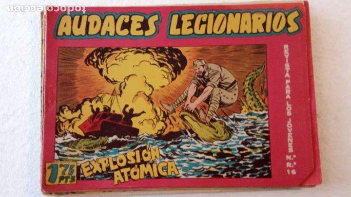 Tebeos: AUDACES LEGIONARIOS-CAPITÁN REY COMPLETA ORIGINAL 1958 MAGA -VER TODAS LAS PORTADAS - LEOPOLDO ORTÍZ - Foto 56 - 236460170
