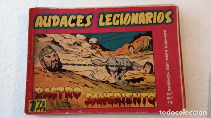 Tebeos: AUDACES LEGIONARIOS-CAPITÁN REY COMPLETA ORIGINAL 1958 MAGA -VER TODAS LAS PORTADAS - LEOPOLDO ORTÍZ - Foto 57 - 236460170