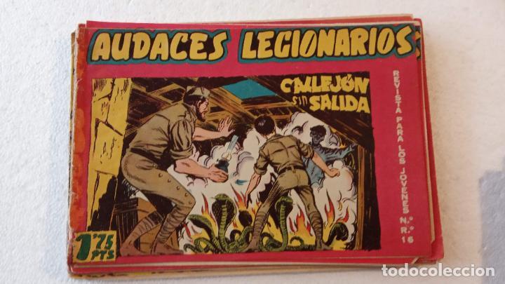 Tebeos: AUDACES LEGIONARIOS-CAPITÁN REY COMPLETA ORIGINAL 1958 MAGA -VER TODAS LAS PORTADAS - LEOPOLDO ORTÍZ - Foto 59 - 236460170