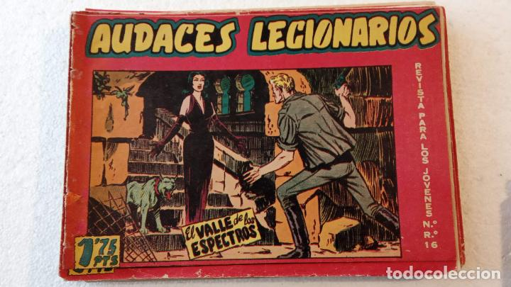 Tebeos: AUDACES LEGIONARIOS-CAPITÁN REY COMPLETA ORIGINAL 1958 MAGA -VER TODAS LAS PORTADAS - LEOPOLDO ORTÍZ - Foto 61 - 236460170