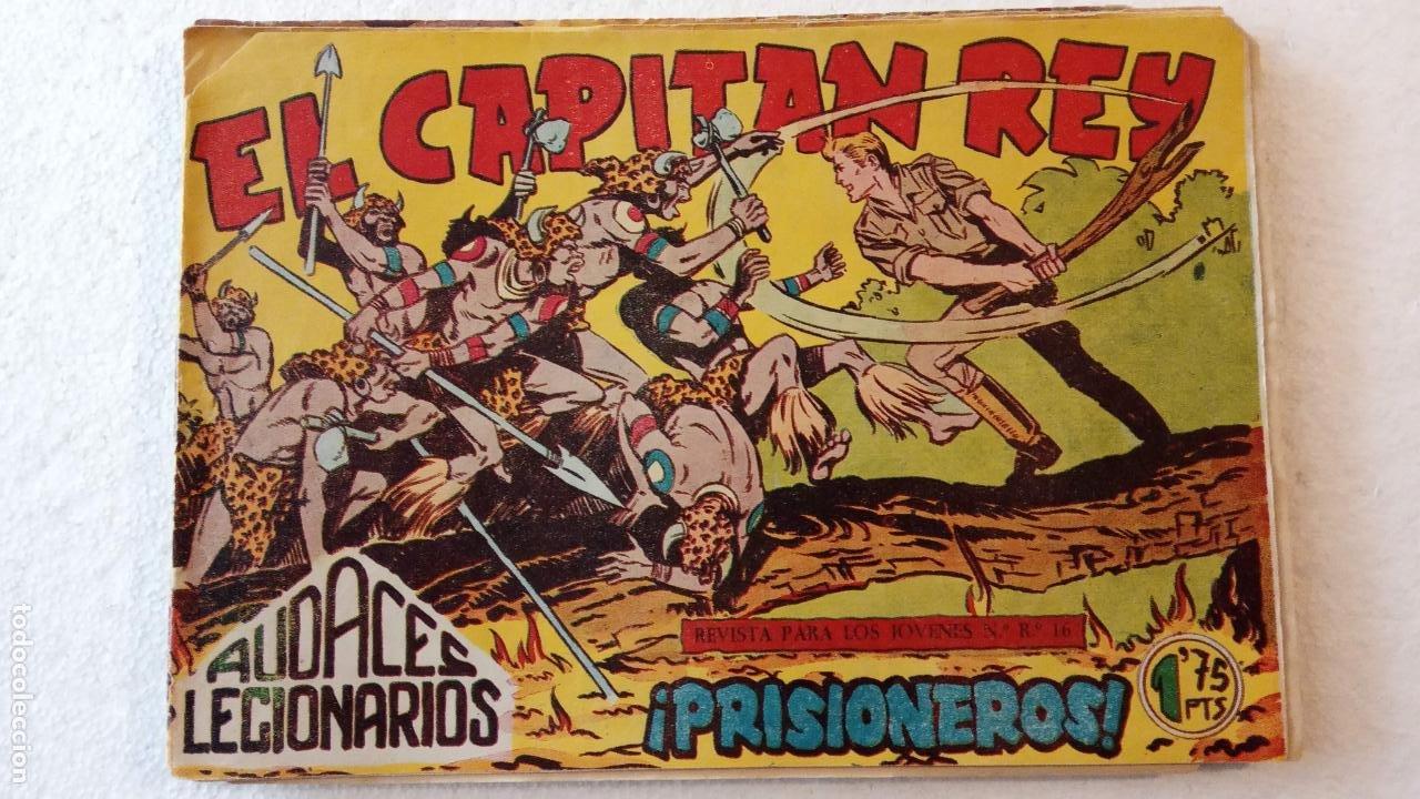 Tebeos: AUDACES LEGIONARIOS-CAPITÁN REY COMPLETA ORIGINAL 1958 MAGA -VER TODAS LAS PORTADAS - LEOPOLDO ORTÍZ - Foto 62 - 236460170