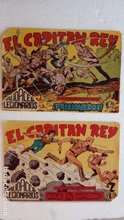 Tebeos: AUDACES LEGIONARIOS-CAPITÁN REY COMPLETA ORIGINAL 1958 MAGA -VER TODAS LAS PORTADAS - LEOPOLDO ORTÍZ - Foto 63 - 236460170