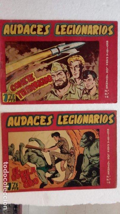 Tebeos: AUDACES LEGIONARIOS-CAPITÁN REY COMPLETA ORIGINAL 1958 MAGA -VER TODAS LAS PORTADAS - LEOPOLDO ORTÍZ - Foto 65 - 236460170