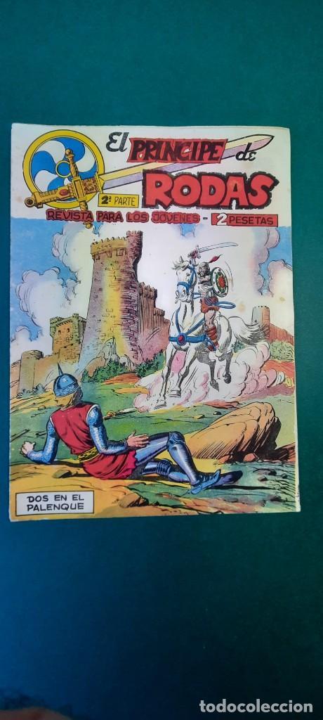 PRINCIPE DE RODAS, EL (1962, MAGA) -2ª PARTE- 7 · 5-VI-1962 · DOS EN EL PALENQUE (Tebeos y Comics - Maga - Otros)