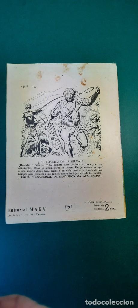 Tebeos: PRINCIPE DE RODAS, EL (1962, MAGA) -2ª PARTE- 7 · 5-VI-1962 · DOS EN EL PALENQUE - Foto 2 - 236584780