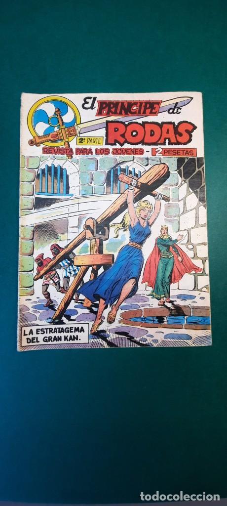 PRINCIPE DE RODAS, EL (1962, MAGA) -2ª PARTE- 9 · 19-VI-1962 · LA ESTRATAGEMA DEL GRAN KAN (Tebeos y Comics - Maga - Otros)