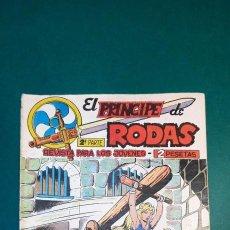 Tebeos: PRINCIPE DE RODAS, EL (1962, MAGA) -2ª PARTE- 9 · 19-VI-1962 · LA ESTRATAGEMA DEL GRAN KAN. Lote 236586265