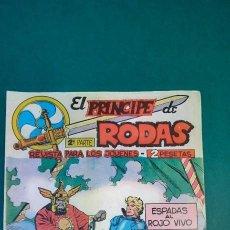 Livros de Banda Desenhada: PRINCIPE DE RODAS, EL (1962, MAGA) -2ª PARTE- 10 · 26-VI-1962 · ESPADAS AL ROJO VIVO. Lote 236588800