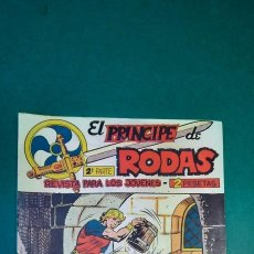 Tebeos: PRINCIPE DE RODAS, EL (1962, MAGA) -2ª PARTE- 12 · 10-VII-1962 · ATROZ CAUTIVERIO. Lote 236591235