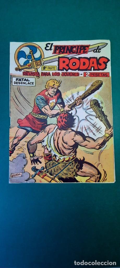 PRINCIPE DE RODAS, EL (1962, MAGA) -2ª PARTE- 15 · 31-VII-1962 · FATAL DESENLACE (Tebeos y Comics - Maga - Otros)