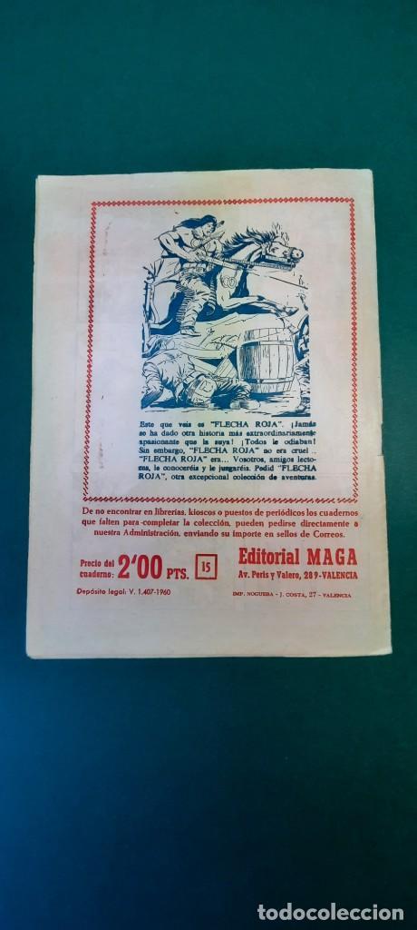 Tebeos: PRINCIPE DE RODAS, EL (1962, MAGA) -2ª PARTE- 15 · 31-VII-1962 · FATAL DESENLACE - Foto 2 - 236594505