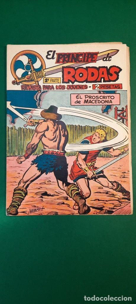 PRINCIPE DE RODAS, EL (1962, MAGA) -2ª PARTE- 17 · 14-VIII-1962 · EL PROSCRITO DE MACEDONIA (Tebeos y Comics - Maga - Otros)