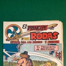 Tebeos: PRINCIPE DE RODAS, EL (1962, MAGA) -2ª PARTE- 17 · 14-VIII-1962 · EL PROSCRITO DE MACEDONIA. Lote 236598745
