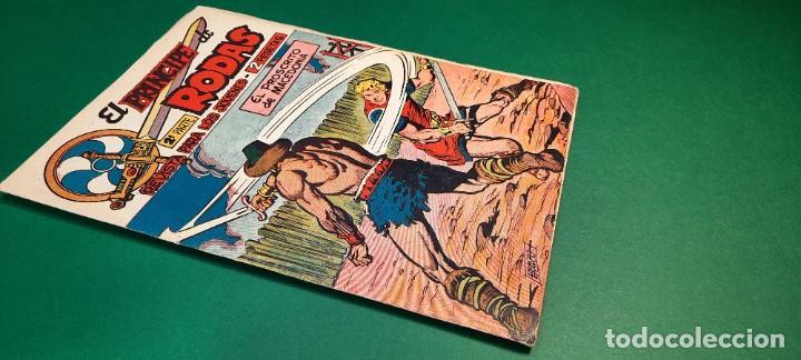 Tebeos: PRINCIPE DE RODAS, EL (1962, MAGA) -2ª PARTE- 17 · 14-VIII-1962 · EL PROSCRITO DE MACEDONIA - Foto 3 - 236598745