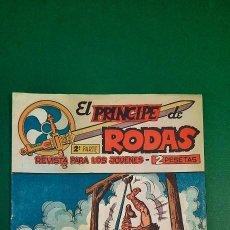 Livros de Banda Desenhada: PRINCIPE DE RODAS, EL (1962, MAGA) -2ª PARTE- 20 · 4-IX-1962 · LOS PIRATAS DEL GRAN RÍO. Lote 236610185