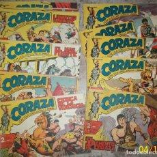 Tebeos: CORAZA (MAGA) LOTE DE 22 NUMEROS DIFERENTES. Lote 236616135