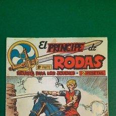 Livros de Banda Desenhada: PRINCIPE DE RODAS, EL (1962, MAGA) -2ª PARTE- 23 · 25-IX-1962 · ¡A UÑA DE CABALLO!. Lote 236631625