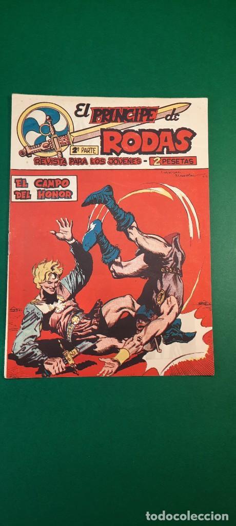 PRINCIPE DE RODAS, EL (1962, MAGA) -2ª PARTE- 28 · 30-X-1962 · EL CAMPO DEL HONOR (Tebeos y Comics - Maga - Otros)