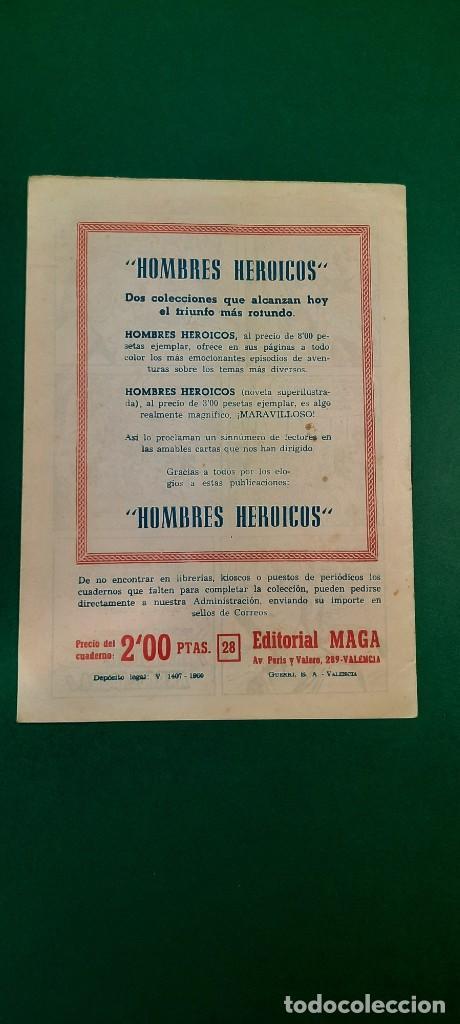 Tebeos: PRINCIPE DE RODAS, EL (1962, MAGA) -2ª PARTE- 28 · 30-X-1962 · EL CAMPO DEL HONOR - Foto 2 - 236633240